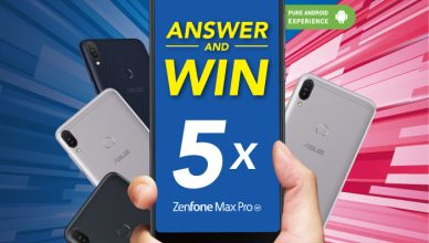 ASUS Visual - ZenFone Max Pro 'Answer & Win' Contest