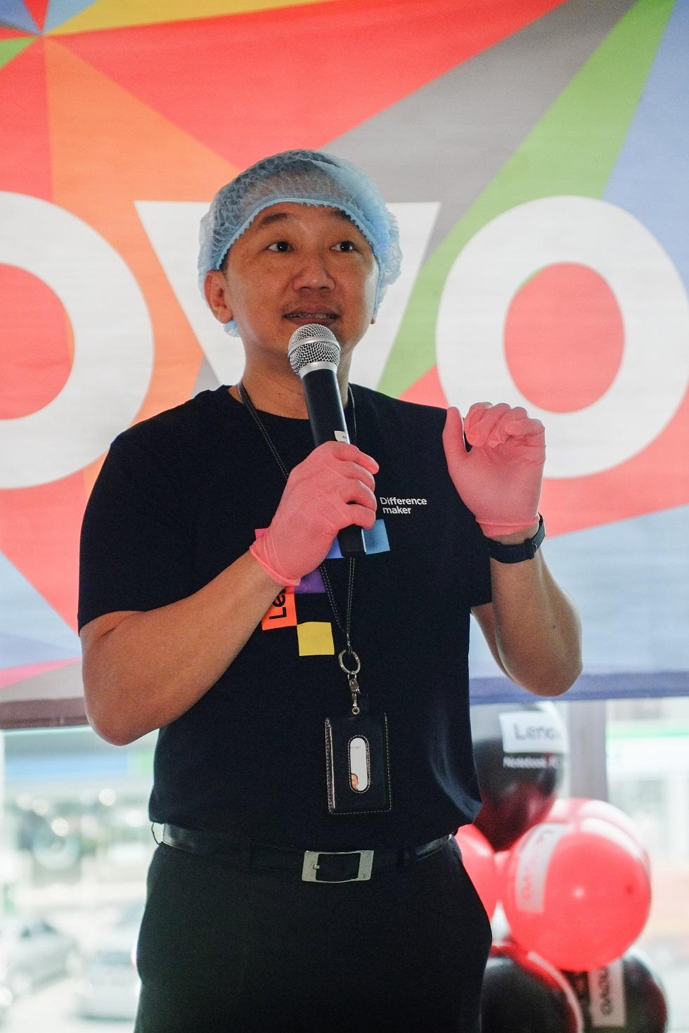Khoo Hung Chuan, Pengurus Besar Negara Lenovo Malaysia