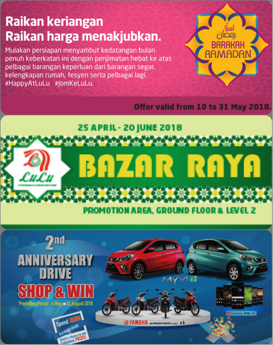 Promosi Ramadan Bazar Raya Shop Win