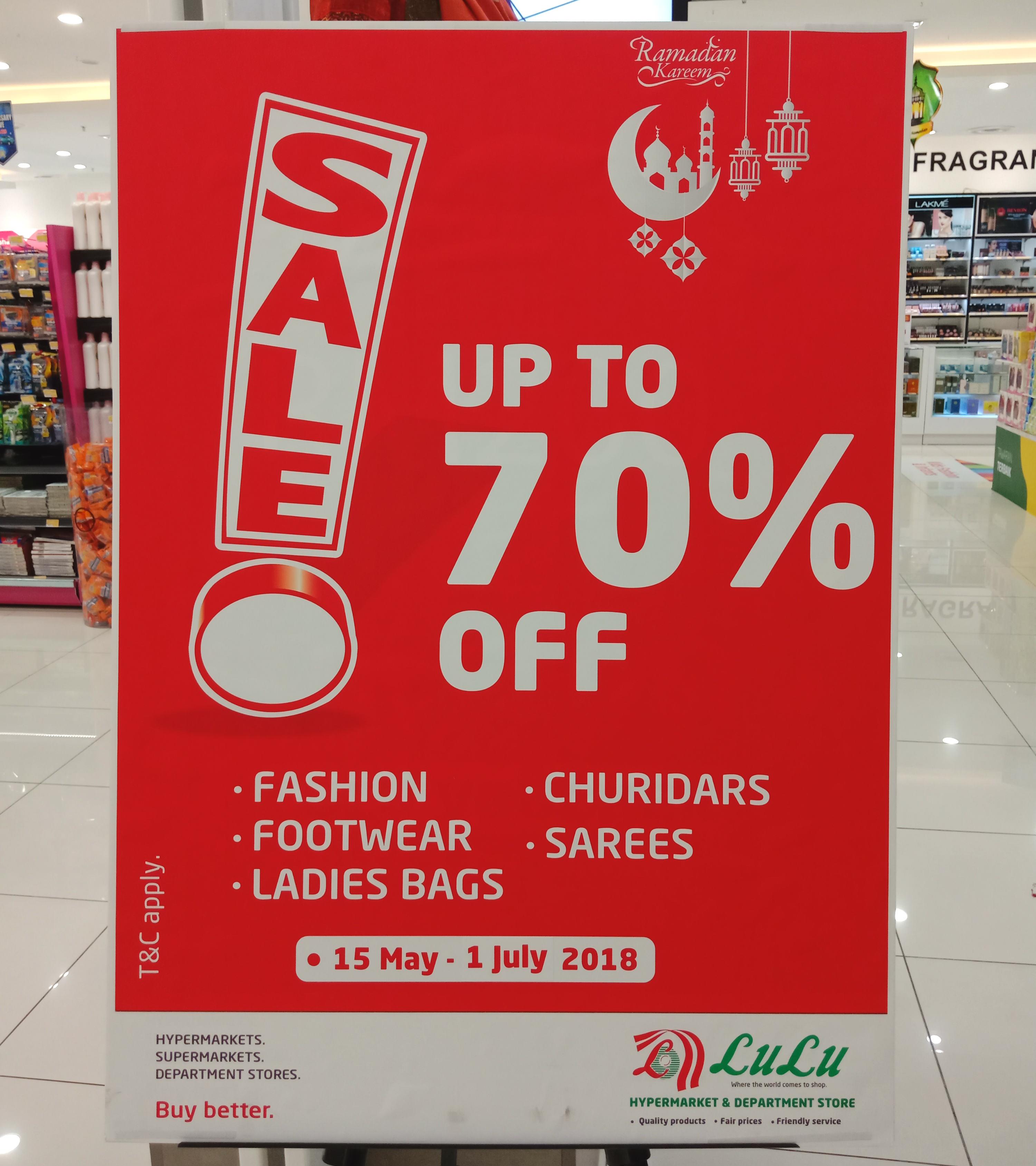 discount up tp 70 percent
