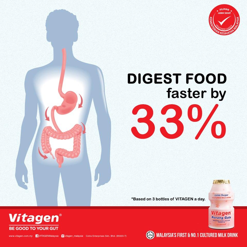Vitagen Healthy Digestion Programme