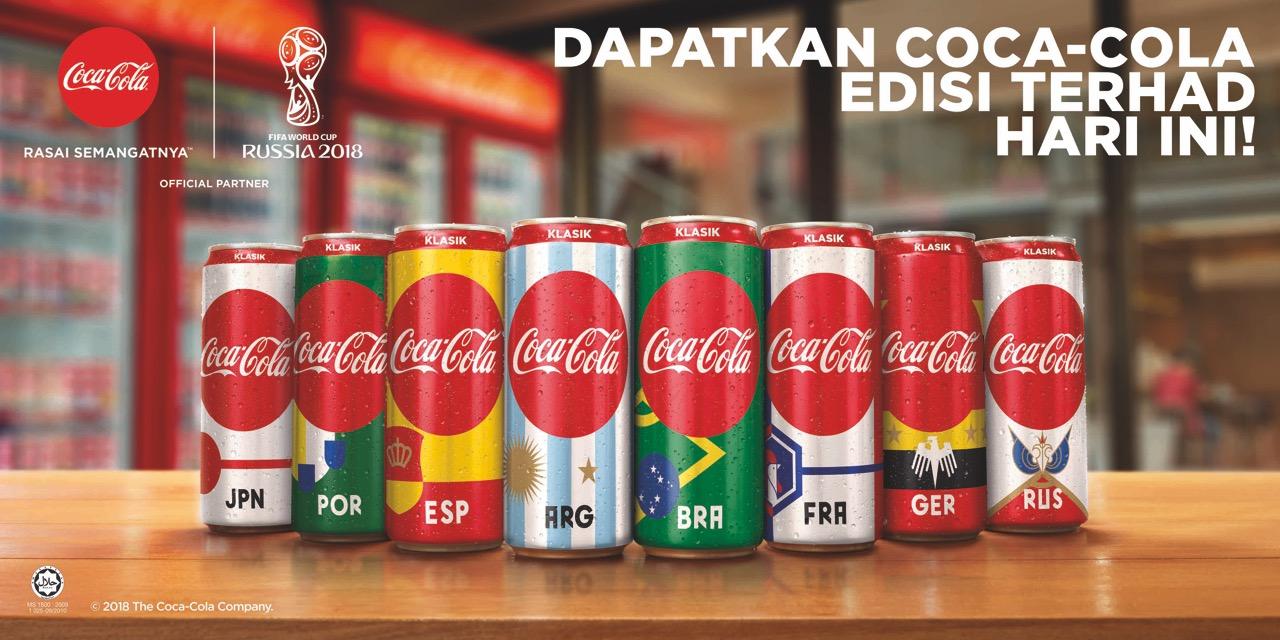 Dapatkan Coca-Cola Edisi Terhad Hari Ini