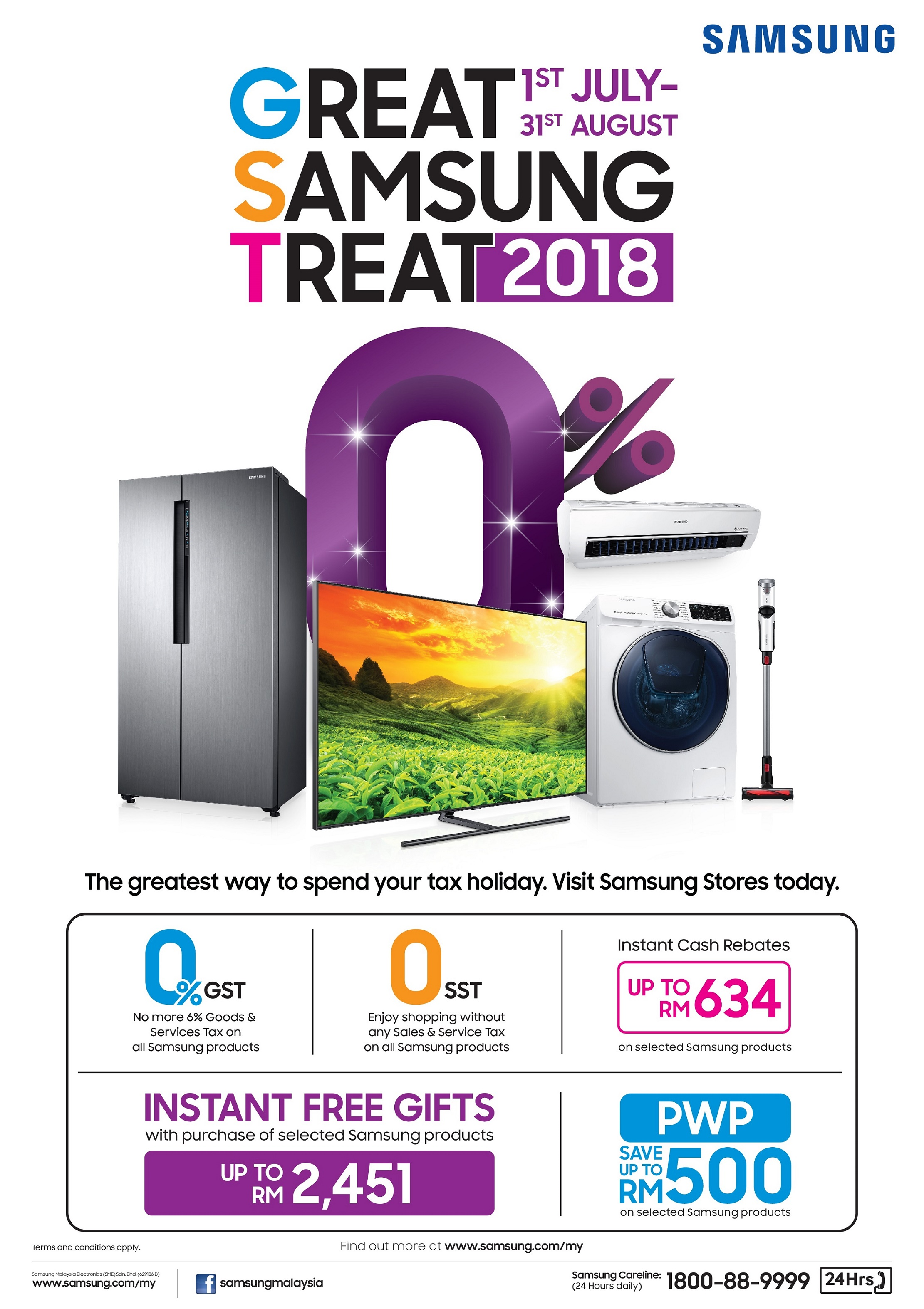 Great Samsung Treat Promo_KV 2018