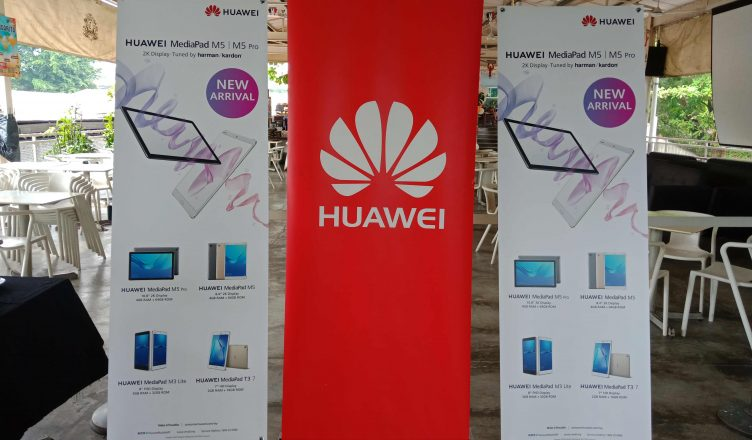 Media Launch HUAWEI MediaPad M5