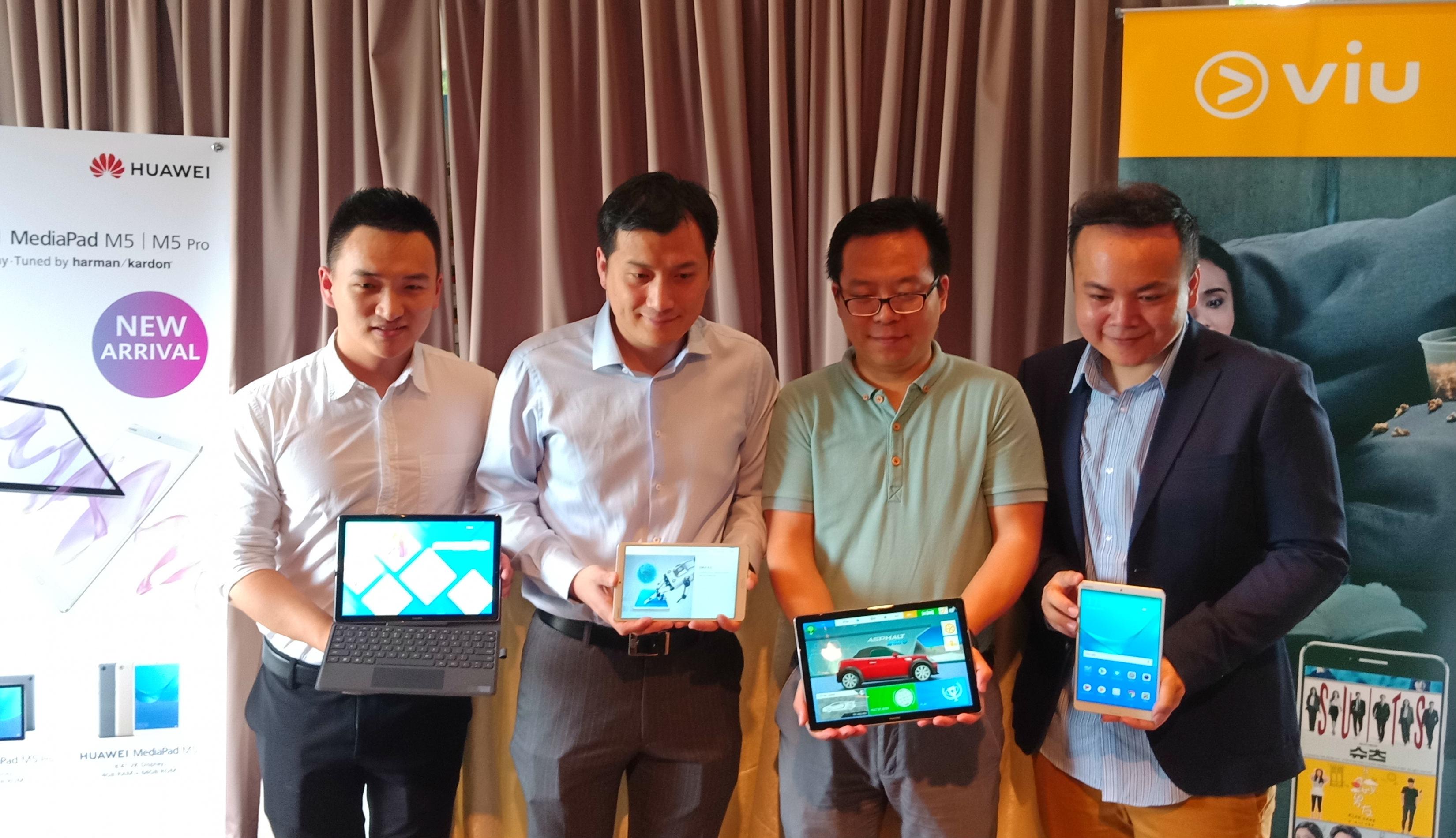 Huawei MediaPad M5 dan M5 Pro dilancarkan