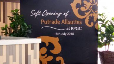 Putrade Allsuites at RPGC soft launch