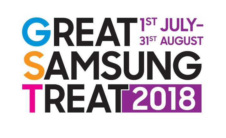 Great Samsung treat 2018 Promo