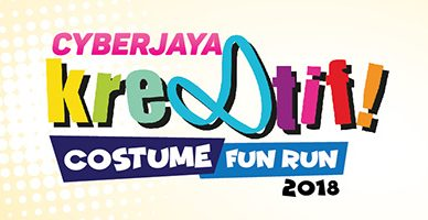 Cyberjaya Kre8tif! Costume Fun Run 2018 poster banner
