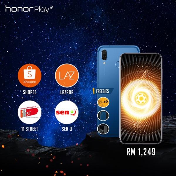 honor Play dijual hari ini