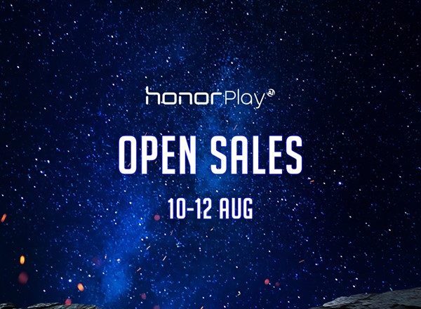 honor Play open for sale