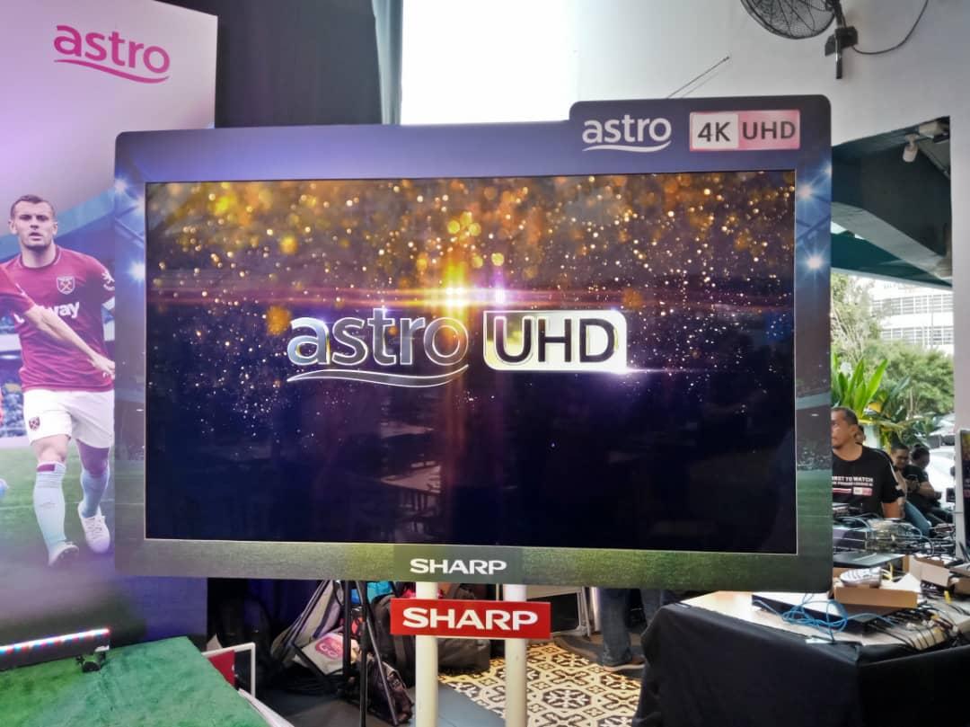 rangkaian siri AQUOS 4K UHD Android
