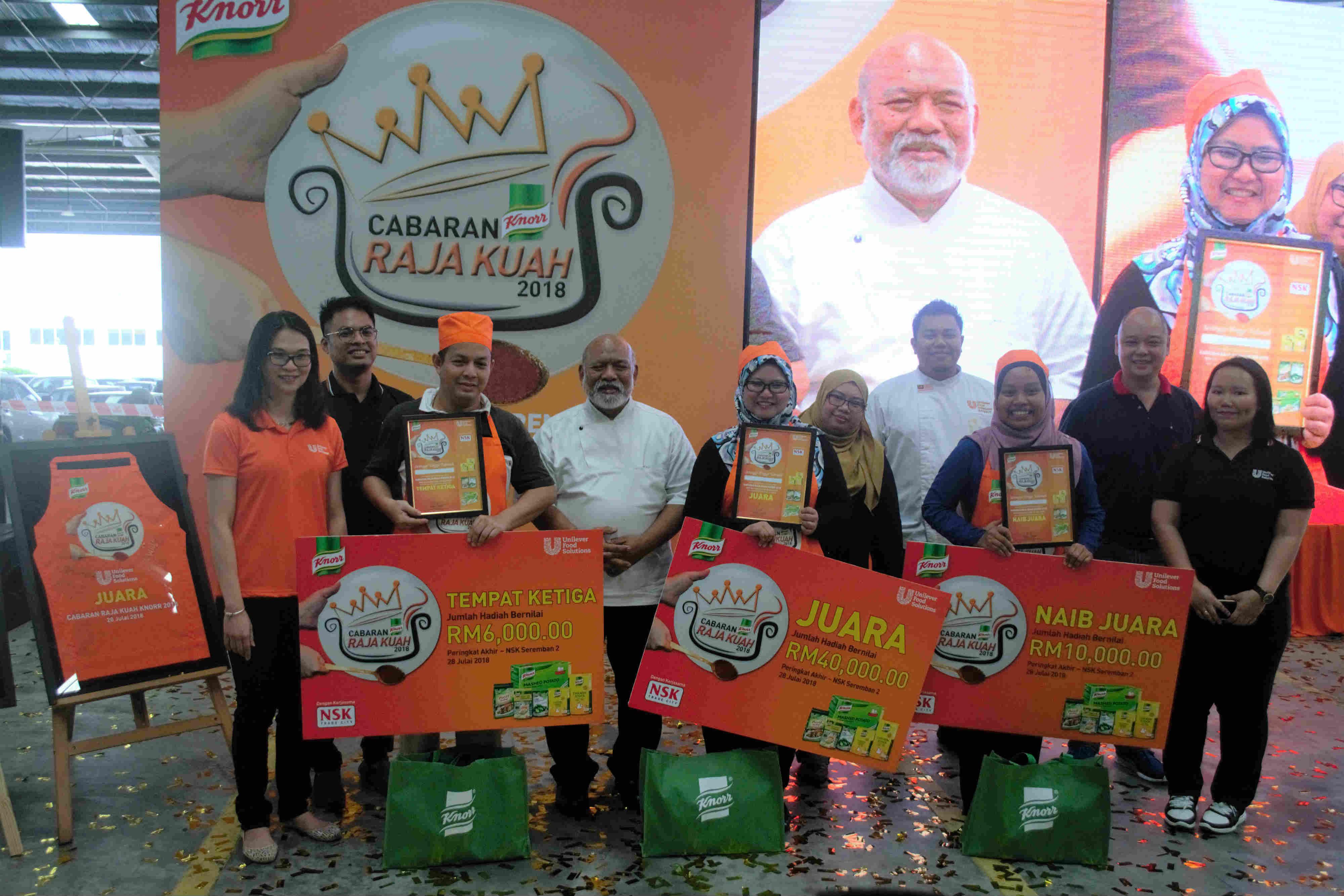 Cabaran Raja Kuah Knorr 2018