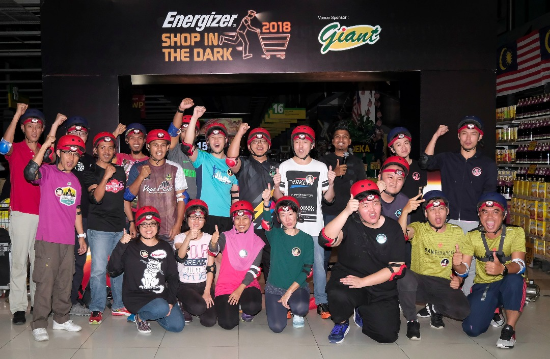 Energizer Shop In The Dark 2018