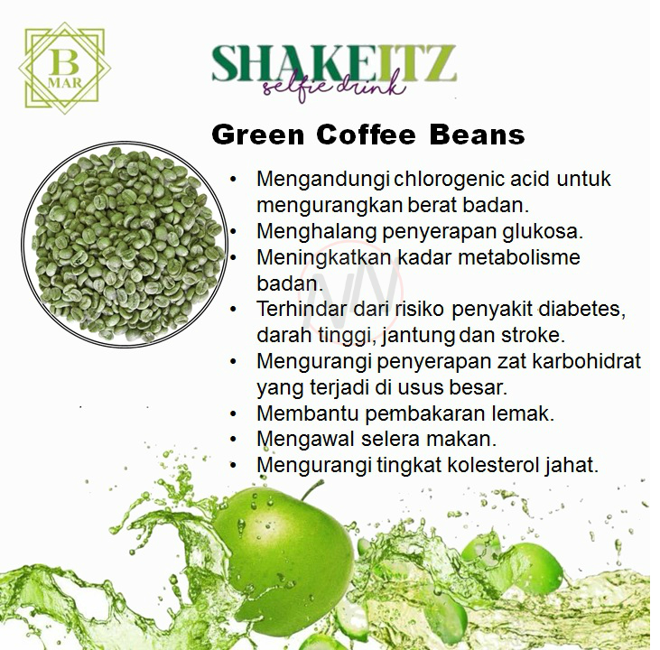 ShakeITZ-Green Coffee Beans