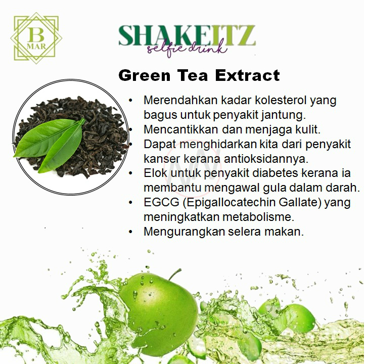 ShakeITZ-Green Tea Extract