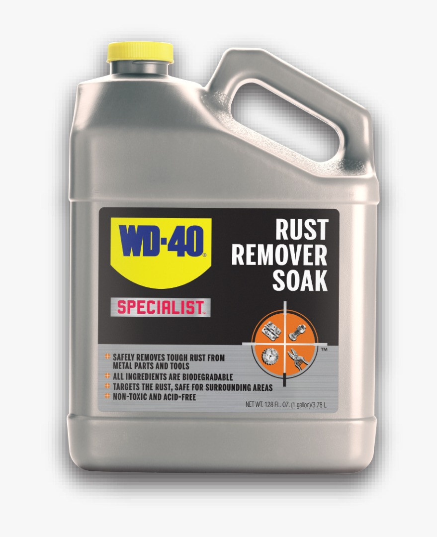 WD-40 - Rust Removal Soak