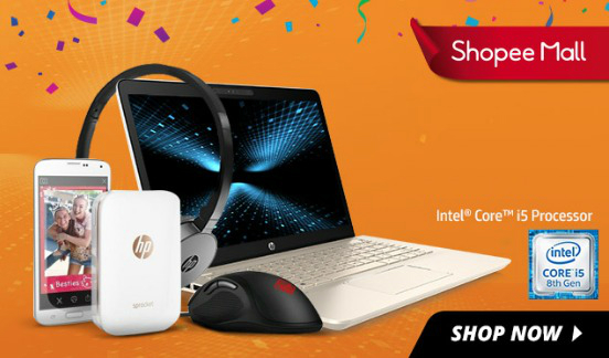 HP Brand Day at Shopee