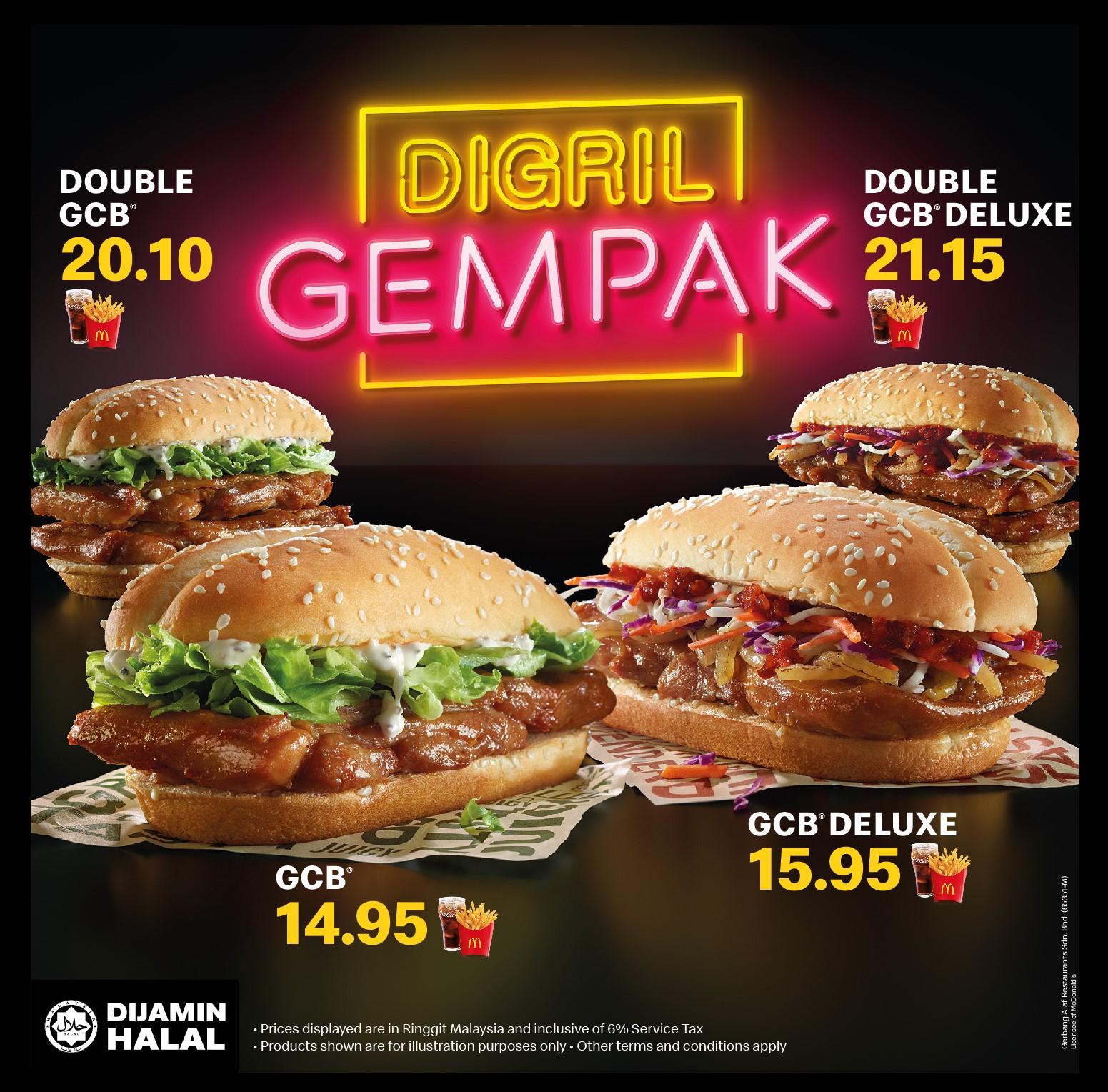 Grilled Chicken Burger