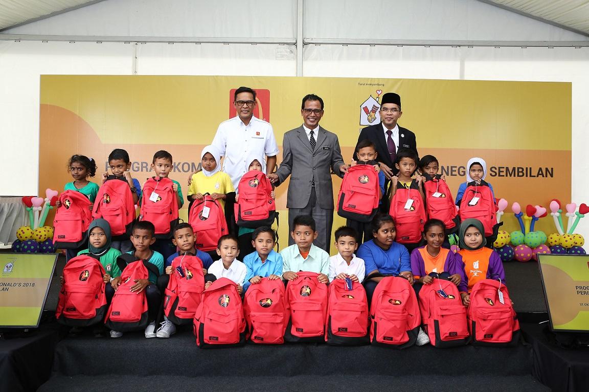 Program Kembali Ke Sekolah McDonald's Malaysia
