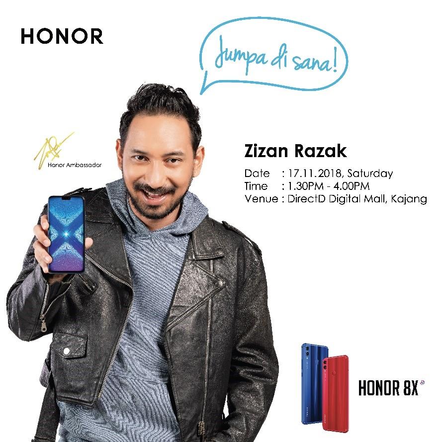 Zizan Razak duta Honor Malaysia