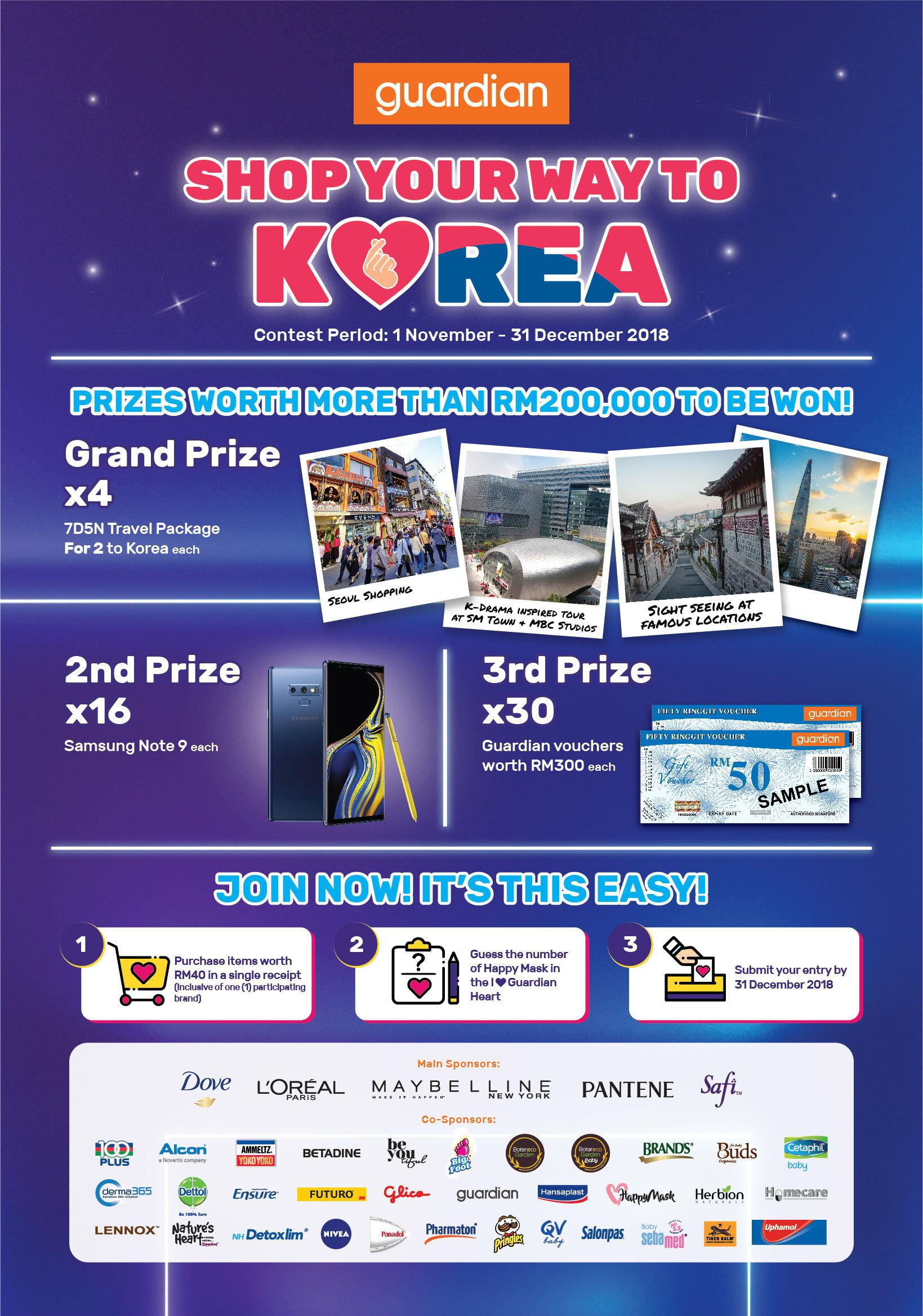 Kontes Shop Your Way To Korea