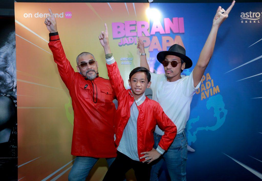 Dato' Awie, Ungku Hariz dan Rykarl Iskandar