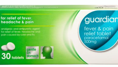 Fever and Pain Relief Tablet 1