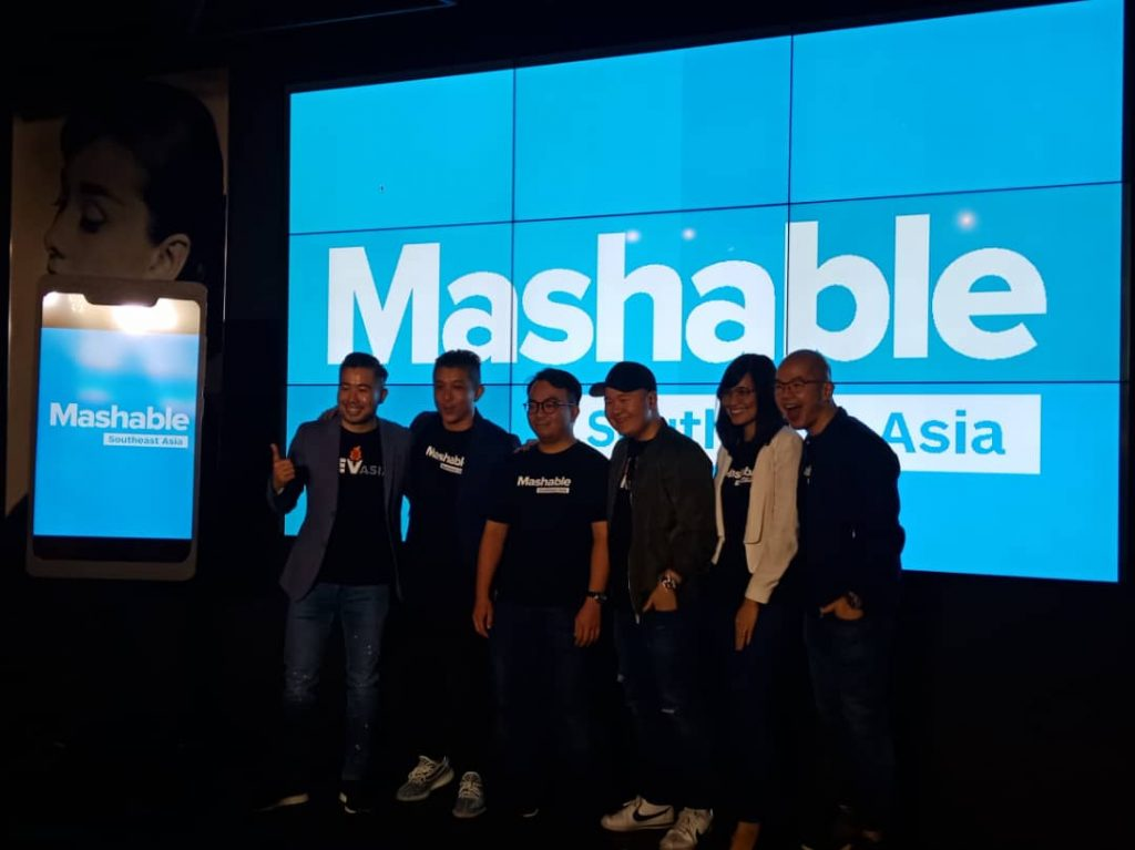 Mashable Southeast Asia dilancarkan oleh Rev Asia