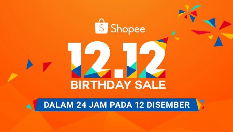 Shopee 12.12 Ulang Tahun