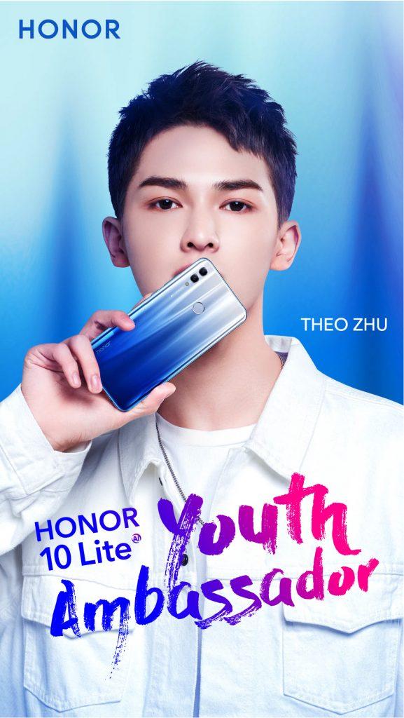 Theo Zhu Duta Belia Malaysia Honor 10 Lite