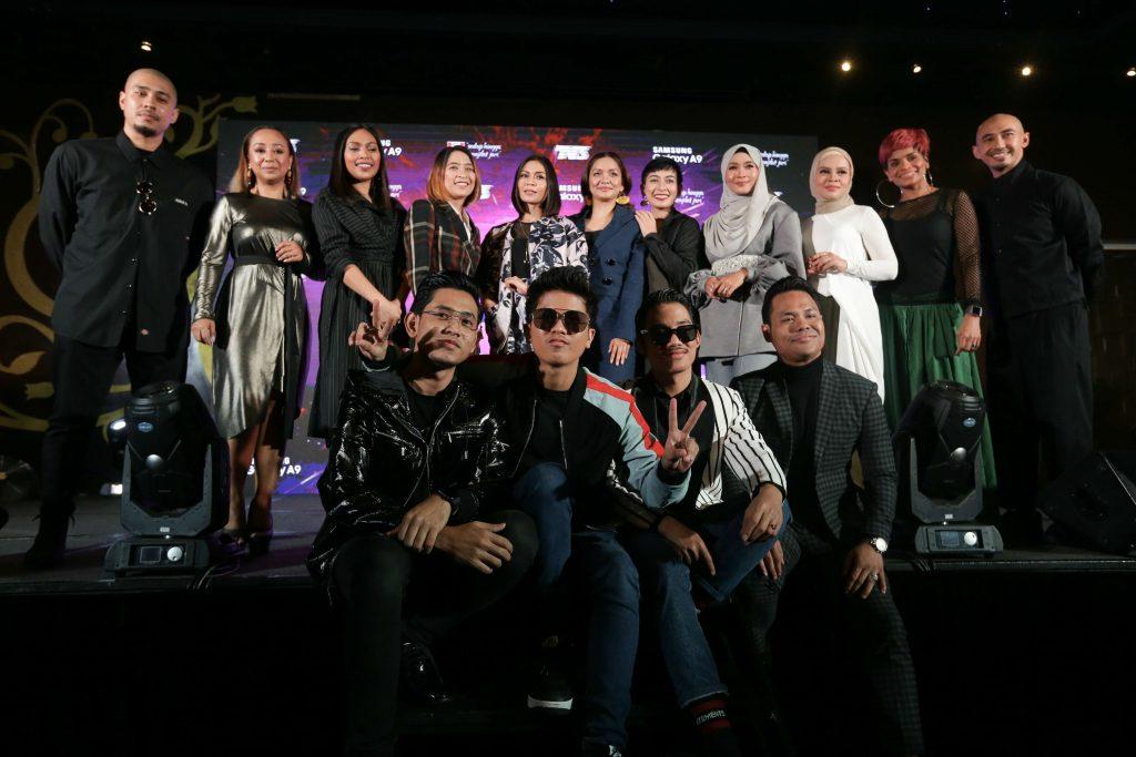 Para finalis Anugerah Juara Lagu 33