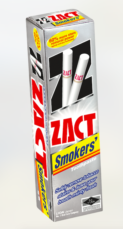 ZACT Smoker's Toothpaste