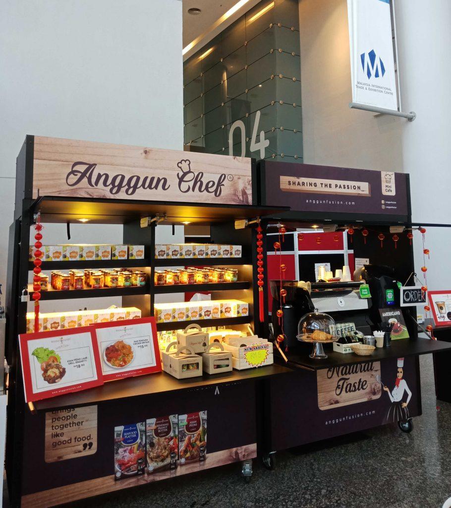 Anggun Chef Portable Cafe