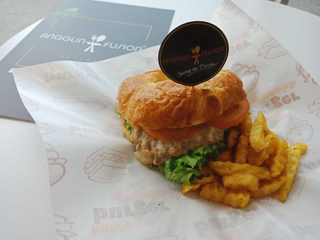 Tuna Croissant Sandwish (RM10.00)