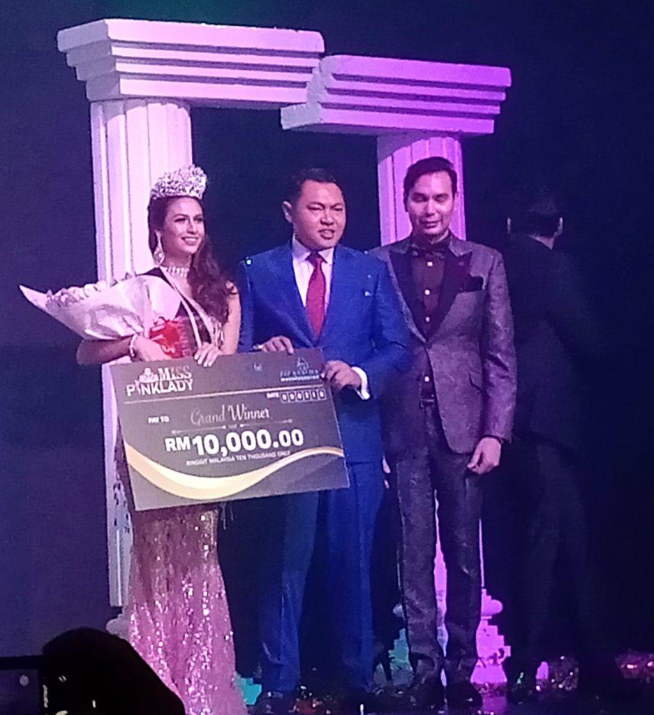 Ismahan pemenang Mahkota Miss PinkLady