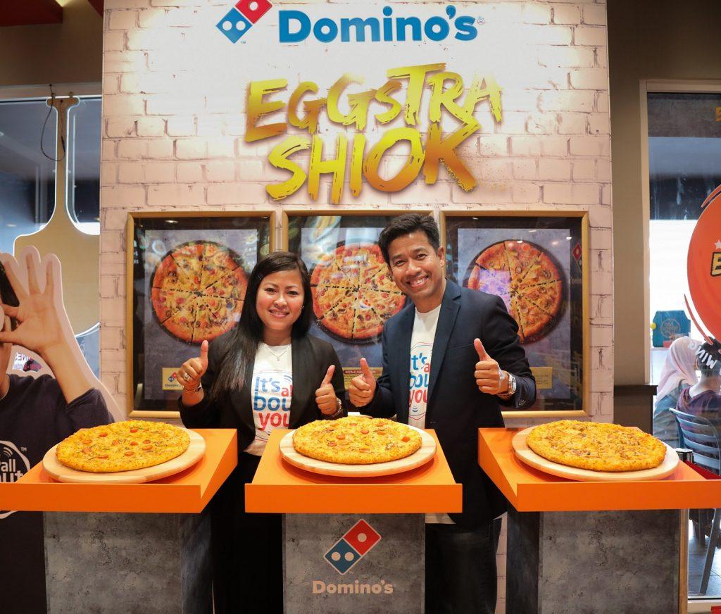 "Dominos perkenalkan sensasi salted egg ""Egg-Shiok"""
