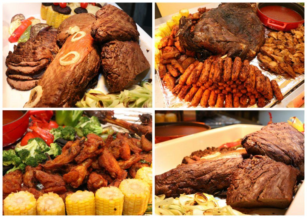 Daging Bakar dan Ayam Bakar