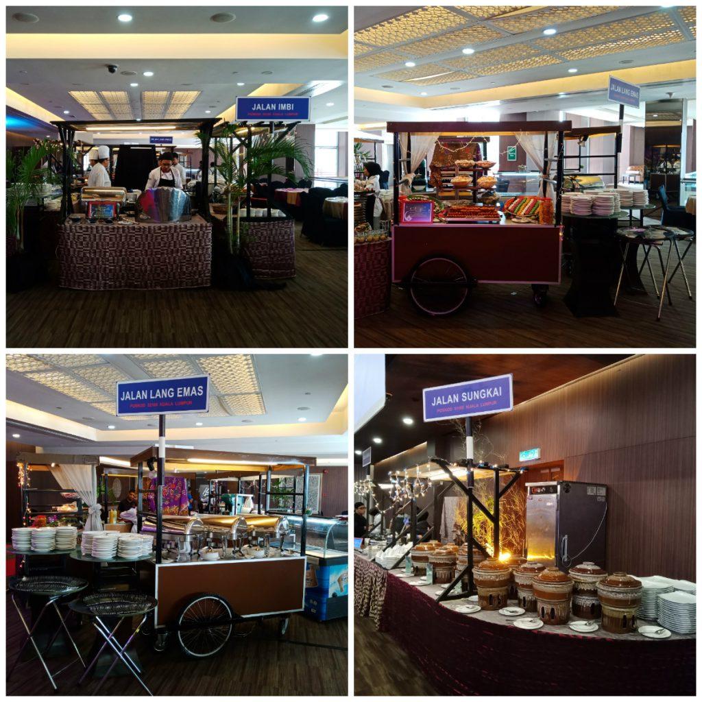 Jalan-Jalan Ramadhan Buffet stalls