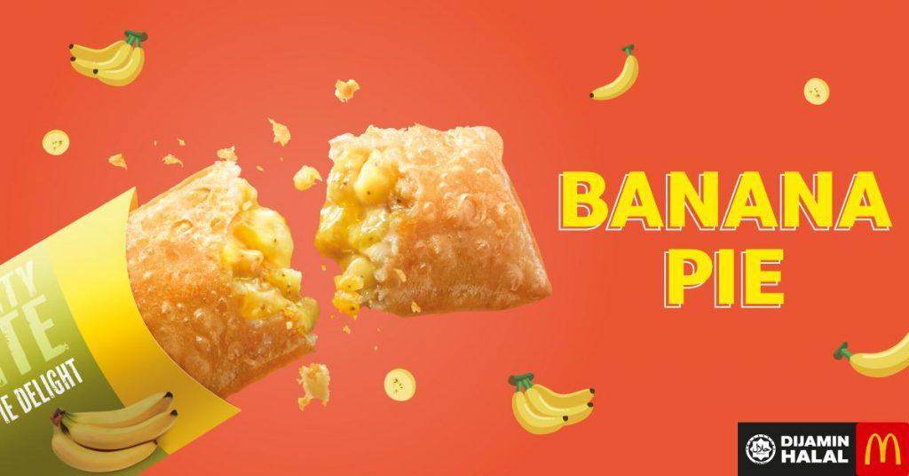 Menu Ramadhan - Banana Pie