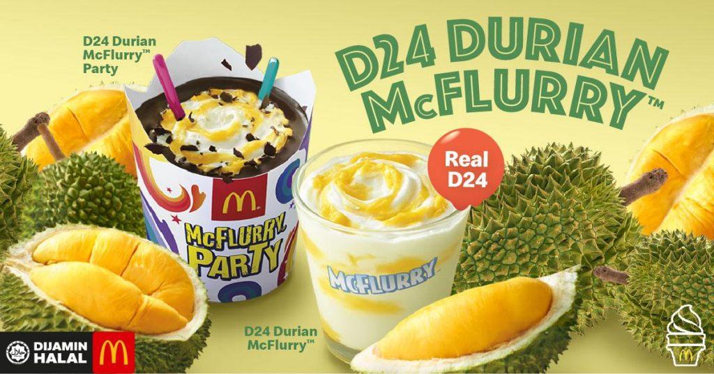 Menu Ramadhan - D24 Durian McFlurry