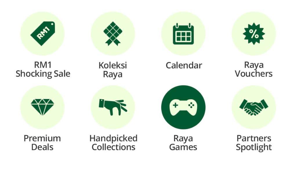 Lots of fun activities with Raya Dengan Shopee