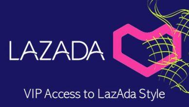 Real-time Raya shopping at Lazada's livestreamed fashion show