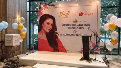Thrill by Sarimah Ibrahim X Shopee