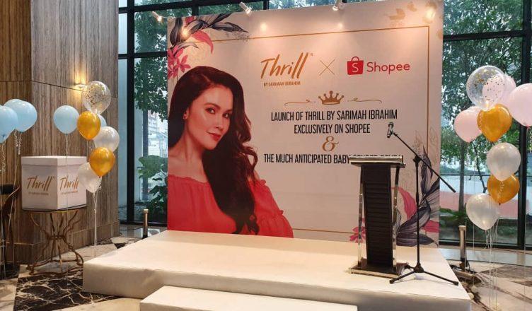 Thrill by Sarimah Ibrahim X Shopee