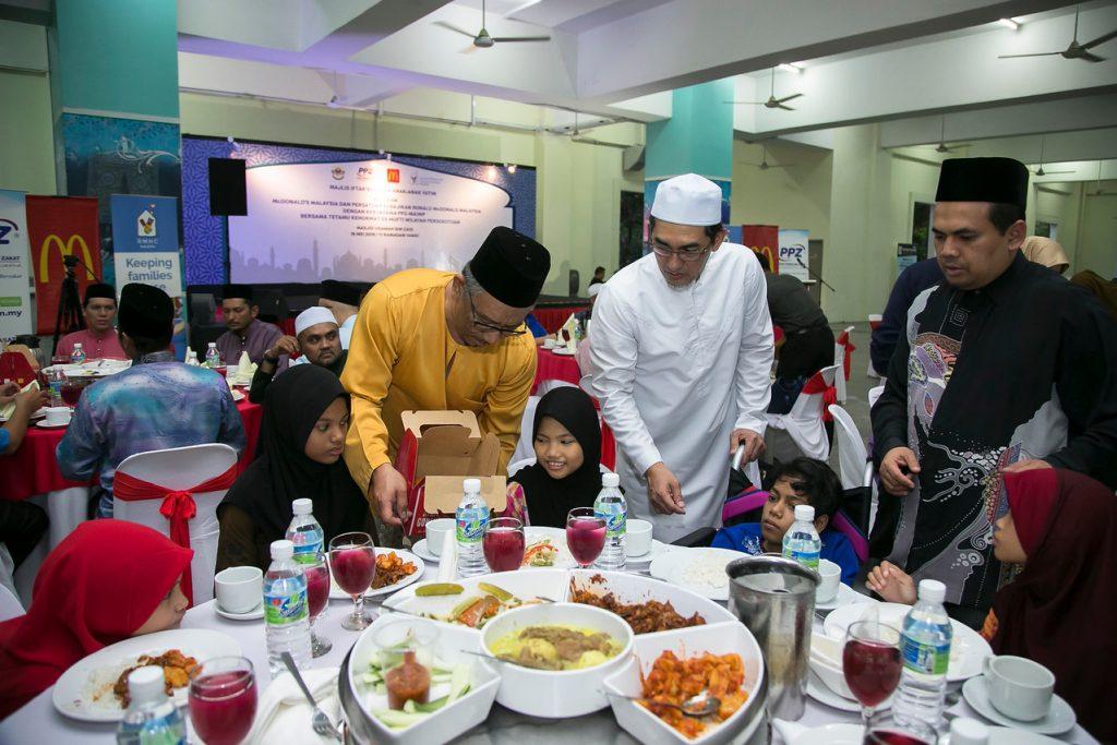 Majlis Iftar anjuran RMHC, PPZ-MAIWP