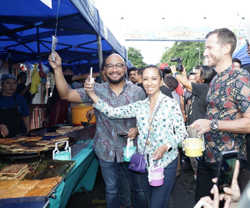 CEO of TNG Digital, Syahrunizam Samsudin; Yang Amat Mulia Tengku Datin Paduka Setia Zatashah Binti Sultan Sharafuddin Idris Shah and Dato' Setia Aubry Rahim Mannesson