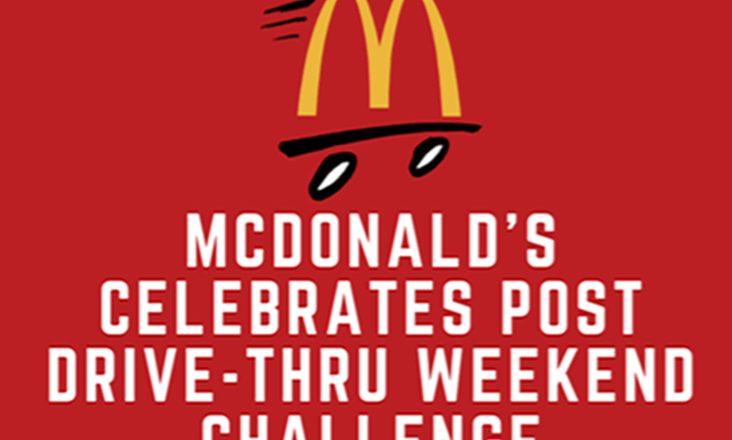 Drive-Thru Weekend Challenge
