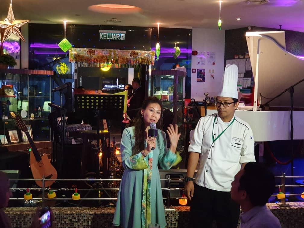 Wakil Pacific West dan Chef Halim