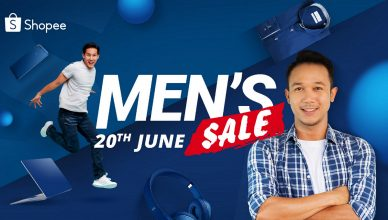 Shopee Men's Sale banner