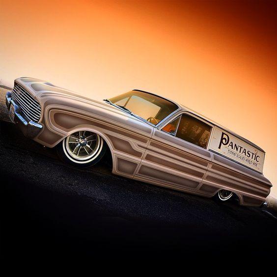 "1961 Ford Falcon Sedan Delivery ""PANTASTIC"""